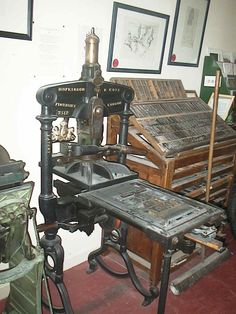 hand press printing - Google Search