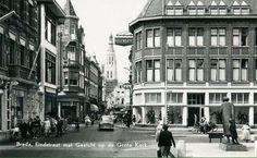 Eindstraat Breda, gezien vanuit de Ginnekenstraat