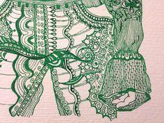 """""""Verde Detalle"""" - """"Dibujos Alternativos"""" Trabajos únicos y originales - Firmados ValBD.- Instagram @valeriabalmacedad_arts"""