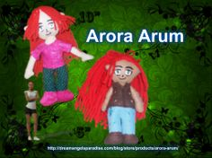 Arora Arum is today's feature!