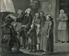 Il gatto nel cestino legge soprano. Anonimo veneziano, Canto al badalone, sec. XVIII.