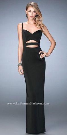 Lila Sweetheart Prom Dress by La Femme  #dress #fashion #designer #lafemme #edressme