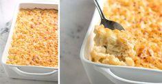 Ako pripraviť pravé, šialené dobré Mac and Cheese, populárne americké jedlo. Macaroni and Cheese, Recept na syrové makaróny, zapečene cestoviny so syrom