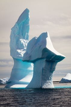 Big Ice, Antarctica - Explore the World with Travel Nerd Nici, one Country at a Time. http://travelnerdnici.com