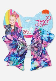 Justice is your one-stop-shop for on-trend styles in tween girls clothing & accessories. Shop our Justice Exclusive Tie Dye Shaky Jojo Siwa Bow. Jojo Siwa Hair, Jojo Siwa Bows, Jojo Bows, Christmas Gifts For 10 Year Olds, Jojo Fashion, Hello Kitty Rooms, Justice Stuff, Callie And Marie, Disney Frozen Birthday