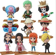 One Piece 2 Years Chibi Action Figures