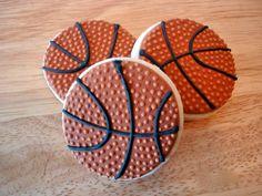 Items similar to One dozen mini delicious basketball sugar cookies on Etsy Mini Cookies, Iced Cookies, Royal Icing Cookies, Cupcake Cookies, Sugar Cookies, Basketball Cookies, Basketball Party, Basketball Birthday, Birthday Cake Girls