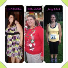 She lost 100+ pounds!