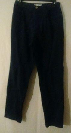 Geoffrey beene sport Dark Blue Dress pants women size 10 Fast Shipping! #GeoffreyBeene #DressPants