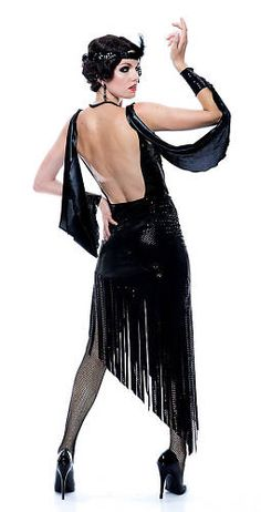 Sexy Glamour Flapper Adult Costume