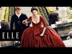 Secrets of Outlander with Sam Heughan and Caitriona Balfe | ELLE - YouTube
