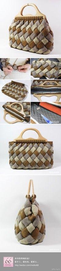 .Enterlac Knitted Bag