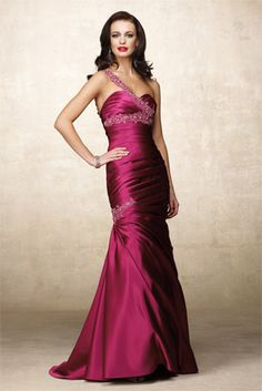 a94198cb2ca Alyce Special Occasion - 6656 One Shoulder Prom Dress