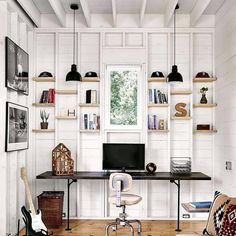 Beautiful Home Designs, Beautiful Homes, Houses In Austin, Modular Shelving, Cottage Renovation, Rustic Home Design, Natural Interior, Exposed Wood, Texas Homes