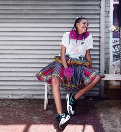 My favorite picture from the Nike campaign! Cava the shoe and of course cava the xibelani ✨✨✨ Nike Campaign, African Fashion, African Outfits, African Style, African Diaspora, Black Queen, Real Women, Traditional Outfits, Lifestyle Blog
