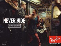 Campañas publicitarias - Never Hide   Sitio oficial Ray-Ban - Spain