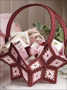Star Basket. Not free but for $2.69 I am considering this might be a really cute gift basket idea?