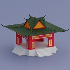 Low Poly old Chinese House. Fully customizable low-poly 3D model. #3D #3DModel #3DDesign #Lowpoly #3dcomic #VR #AR #ancient #architecture #asia #asian #building #CartoonLowpoly #chaina #china #chinese #culture #design #game #home #house #household #japon #low #old #other #poly #samurai #traditional #travel Chinese Buildings, House 3d Model, Low Poly 3d Models, Ancient Architecture, Chinese Culture, Living Room Art, 3d Design, 3 D, Design Inspiration