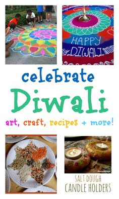 Diwali rangoli designs with colored salt - NurtureStore