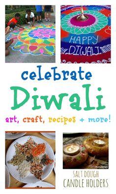 Diwali rangoli designs with colored salt - NurtureStore