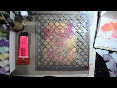 Printing in Your (Hardcover) Art Journal w/ Gelli Plate! - Samie Harding - aka - Journal Girl! YouTube