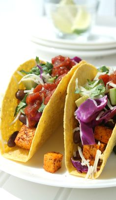 Loaded Tofu Tacos vi