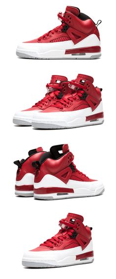meet 41e8b 12ec2 Boys Shoes 57929  New Kid S Nike Air Jordan Spizike Bg Basketball Sneaker -  Red
