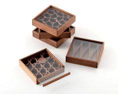 Japanese honeycomb style box