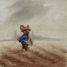 From the Upcoming Redwall game Here's a piece that'll be going into the game. This isn't concept art, but rather a painting that appears AS a painting in the catacombs under Lilygrove...