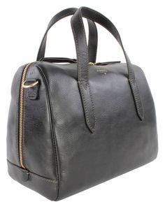 Fossil SYDNEY Schwarz ZB5486-001 Damen Handtasche Tasche Henkeltasche Schultertasche Shopper Leder: Amazon.de 149,00 Euro
