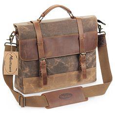 Pepper Salt Canvas Bag Multifunction Fashion Retro Outdoor Sports Shoulder Bag Man Ms Satchel Briefcase Traveling Work Bags,Black ZCBDNB Canvas Messenger Bag