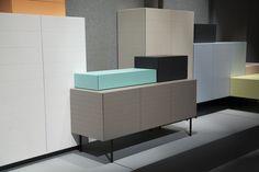 Conjunto de armários Toshi, design Luca Nichetto para Casamania