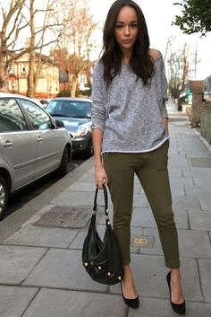 olive and gray