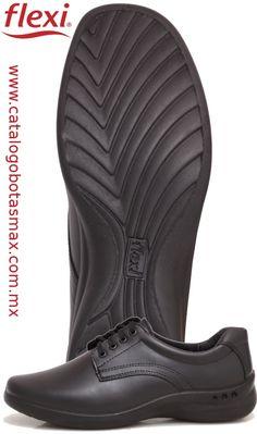 #zapatos #cómodos para #mujer en color negro marca #flexi.  estilo 48304.