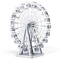 Fascinations Metal Earth Ferris Wheel 3D Metal Model Kit ...