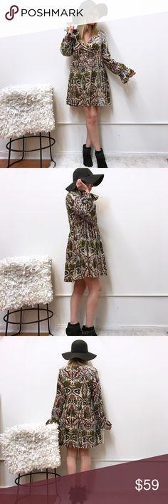 "Free People velvet dress sz m medium FP dress. Sz M. Chest flat across 18.5"" length 34"" Free People Dresses"