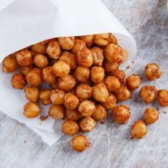 Roasted Chickpea Healthy Snack