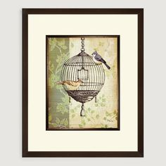 Botanical Birdcage I | World Market