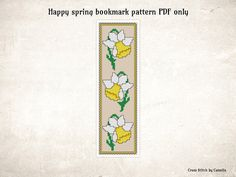 Diy Christmas Cards, Xmas Cards, Happy Spring, Counting, Cross Stitch Patterns, Floral Design, Etsy, Art, Punto De Cruz