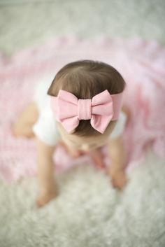 Dusty Rose Bow Headband | Basics for every babe's closet.