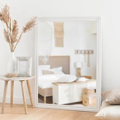 Mango Wood Side Table on Maisons du Monde. Take your pick from our furniture and accessories and be inspired! Bamboo Light, Bleached Wood, Wood End Tables, Flat Ideas, Wood Interiors, Bedroom Inspo, My Room, Table Decorations, Living Room