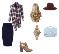 """""""Fall outfit!"""" by katiedawn0801 on Polyvore featuring LE3NO, WearAll, The Cambridge Satchel Company, Janessa Leone and Shinola"""