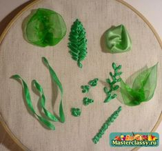 ~A ribbon embroidery tutorial for beginners