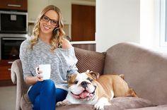Woman with bulldog_vdtpdh.jpg