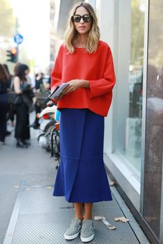Fashion Week Spring 2015 Street Style
