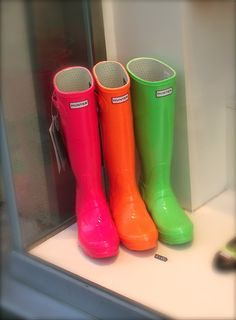 hunter boots | Tumblr