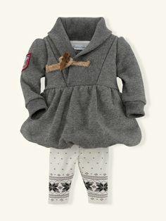d61c5212c247 Salt  amp  Pepper Fleece Set - Layette Outfits  amp  Gift Sets -  RalphLauren.