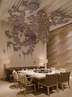 Yan Yu Restaurant, located in W Hotel Guangzhou, China