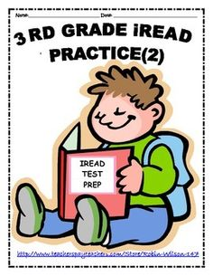 Get ready for 3rd Grade IREAD Teachers and Parents.  This packet is perfect for practice for the upcoming IREAD.
