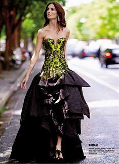 #woweffect | Vestito bustier Armani -|- Armani fashion lifestyle